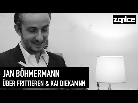 Frittieren & Kai Diekmann: Jan Böhmermann im Interview (zqnce)