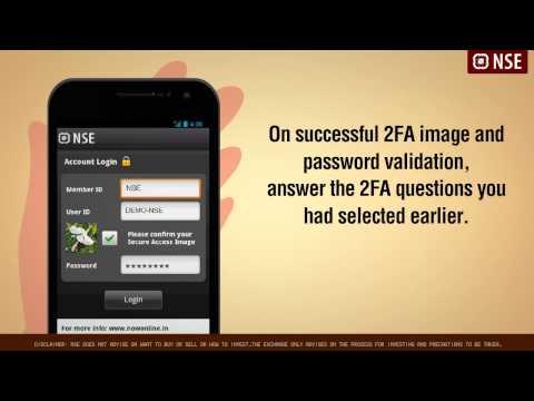 NSE's Mobile Trading App