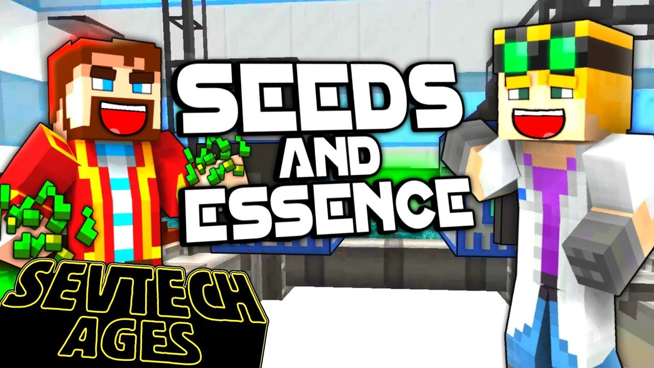 Minecraft: SevTech Ages - SEEDS AND ESSENCE - Age 5 #20