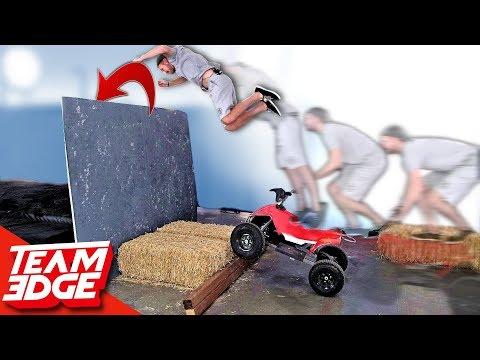 Dangerous Stunt Jump Competition! | Funny Fails!!