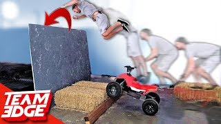Dangerous Stunt Jump Competition! | Funny Fails!!