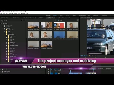 General Premiere Pros Project Manager For Backup And Archive