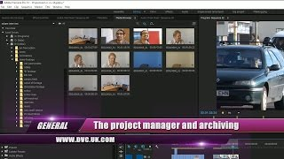 General 1: Premiere Pro's Project manager for backup and archive(The project manager has been in Premiere Pro for many years but was unreliable. The new version is reliable and has lots of new and useful archiving options., 2016-03-09T17:18:23.000Z)