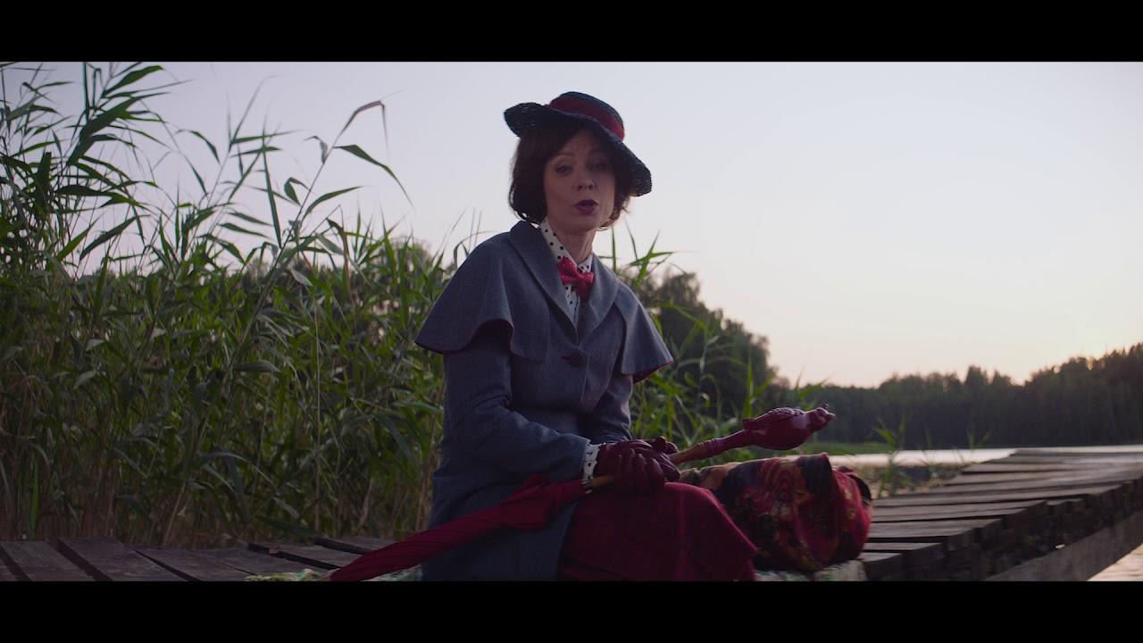 Mary Poppins zaprasza do Disneylandu - YouTube