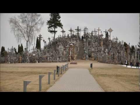Siauliai and Hill of crosses (Lithuania) — Šiauliai y Montaña de cruces, Lietuva, Lituania