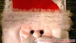 видео Декоративный сапожок на елку