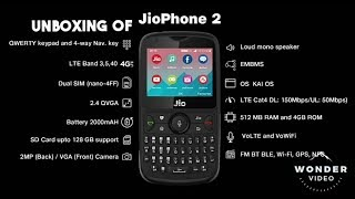 JIO PHONE 2 UNBOXING & FULL REVIEW