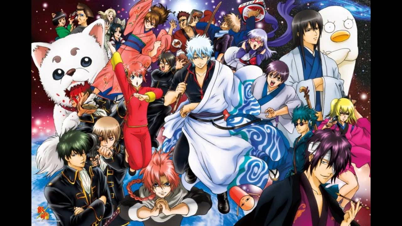 Anime Wallpapers Gintama HD 4K Download For Mobile iPhone & PC