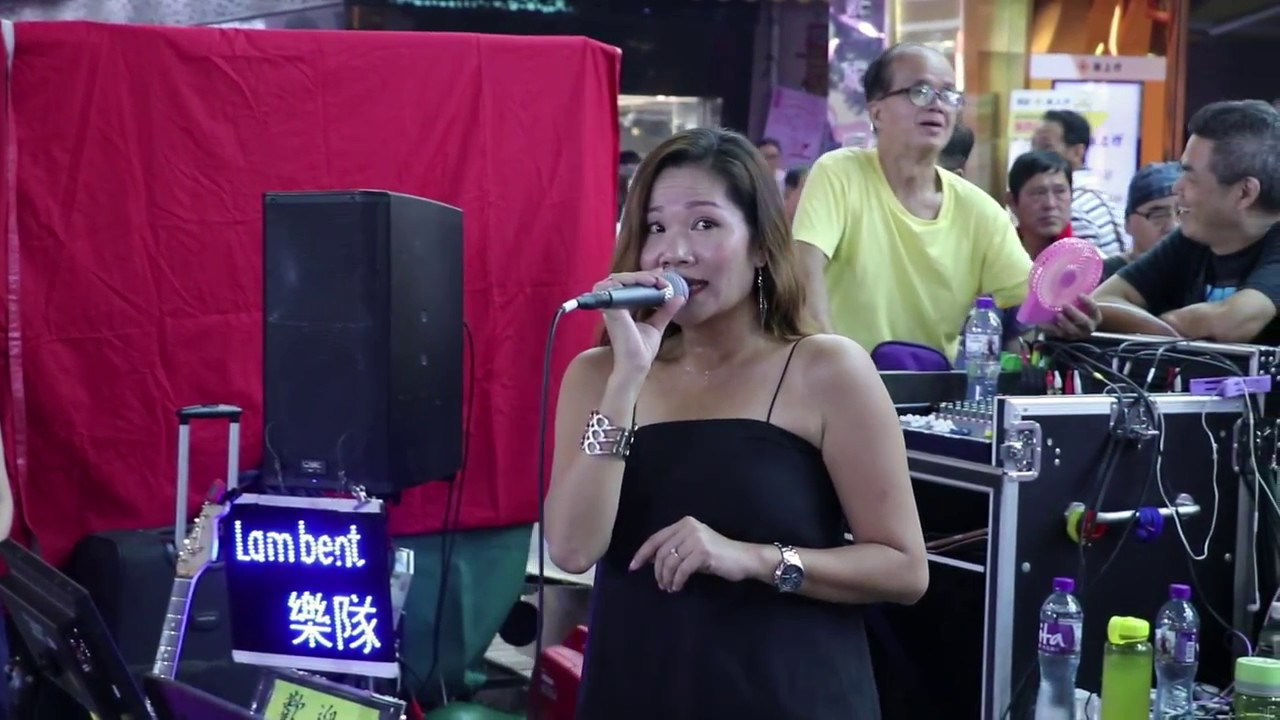午夜情 + 壞女孩 + 赤的疑惑 + 情比雨絲 -- 黎慧嫻 -- Lambent樂隊170916 CN - YouTube
