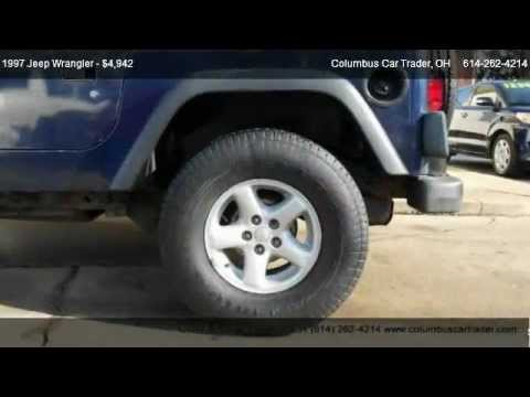1997 jeep wrangler video se for sale in columbus oh 43214 used cars under 5000 youtube. Black Bedroom Furniture Sets. Home Design Ideas