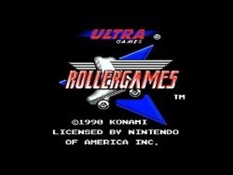 Полное прохождение (((Dendy))) RollerGames / Гонки на Роликах