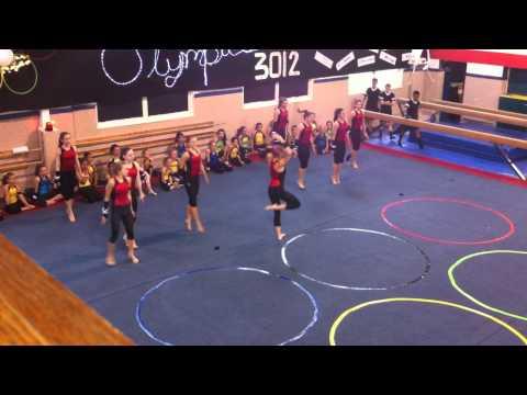 Gymnastics Express Exhibition - June 8, 2012