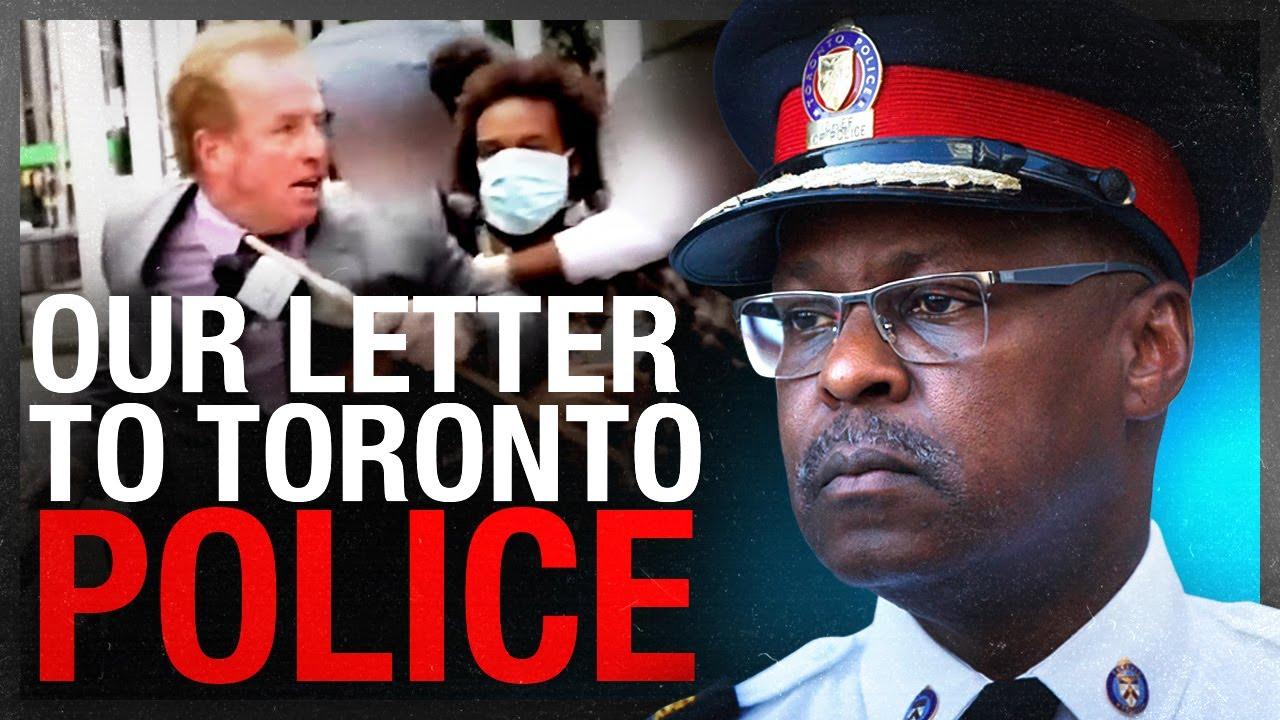 Rebel News demands Toronto police investigate Antifa assault