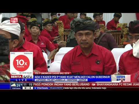 Hari Ini PDIP Umumkan Cagub Bali 2018