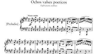 Play Valses Poéticos (7), For Piano, H. 147