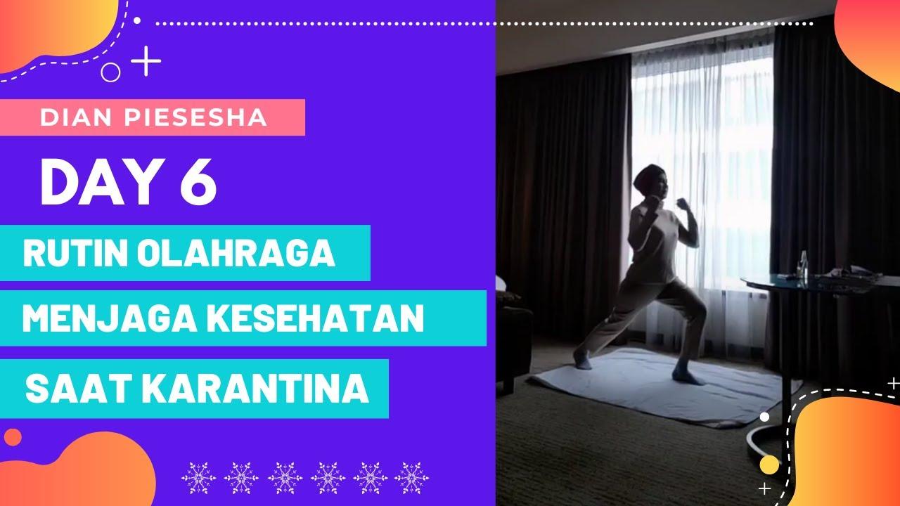 [VLOG] Rutin Olahraga dan Menjaga Kesehatan Saat Karantina   Quarantine in Malaysia Day 6