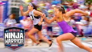 LIGHTNING FAST Ninja Races | American Ninja Warrior Junior | Universal Kids