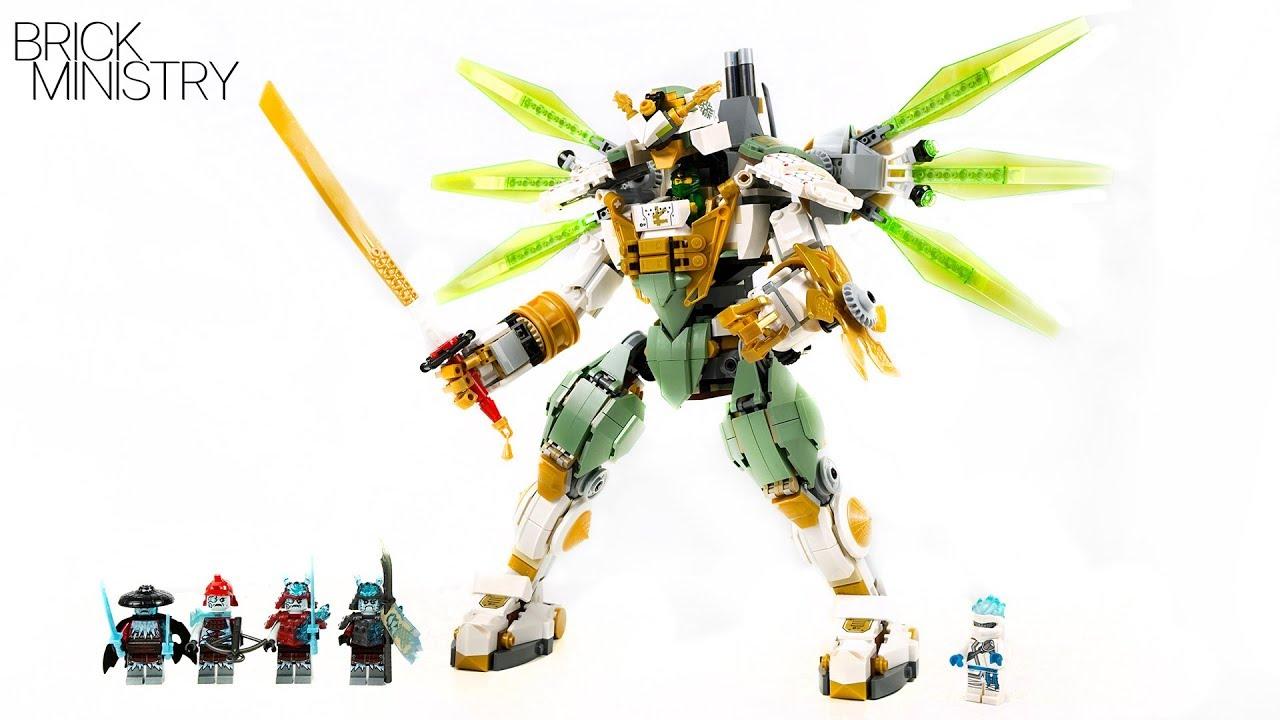 Lego Ninjago 2019 Lloyd S Titan Mech Speed Build 70676 Youtube