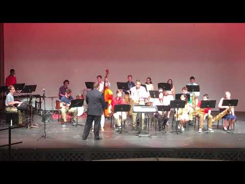 """Bradley's Groove Shop"" - North Attleboro High School Jazz Band"