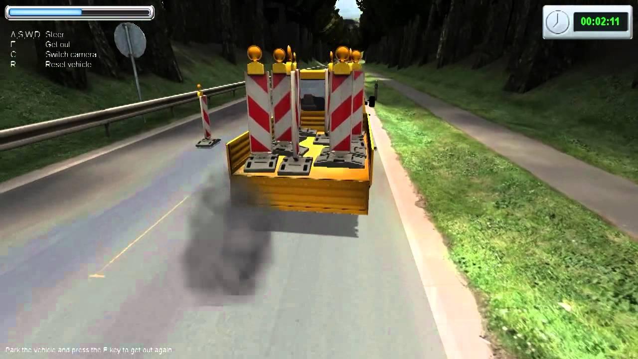 Road Construction Simulator Gameplay