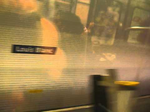 Station Louis Blanc sur la ligne 7 du métro à paris