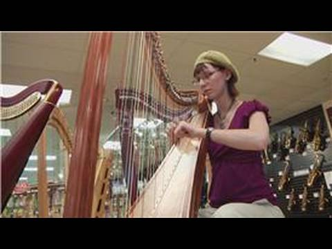 Harps How Does A Harp Make Sound Youtube