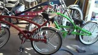 A Stretch 3 wheel bicycle for GRAMPA