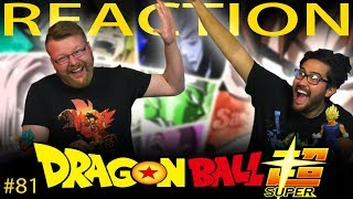 Dragon Ball Super [ENGLISH DUB] REACTION!! Episode 81