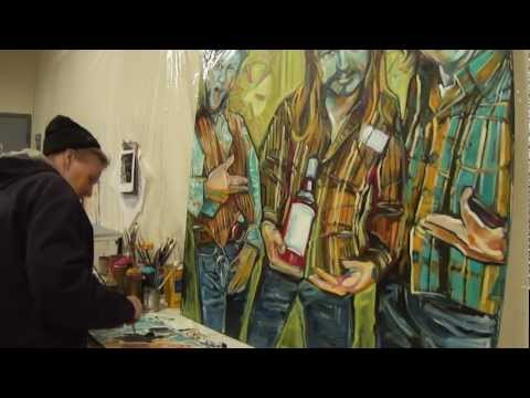 Studio 120 - #17: Painter Beck Lane talks about painting the Silks and unusual measures in painting
