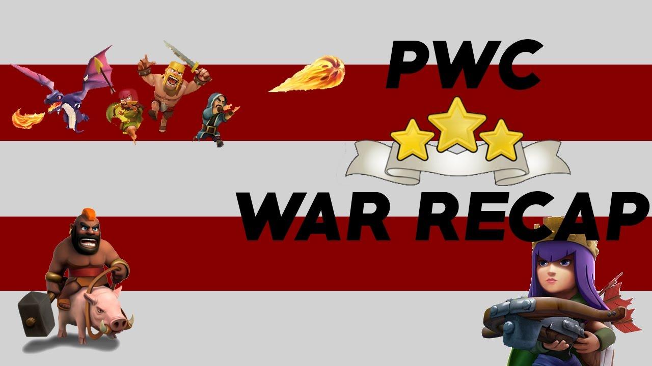 cwl week 3 pwc vs kansha th10 9 attacks youtube