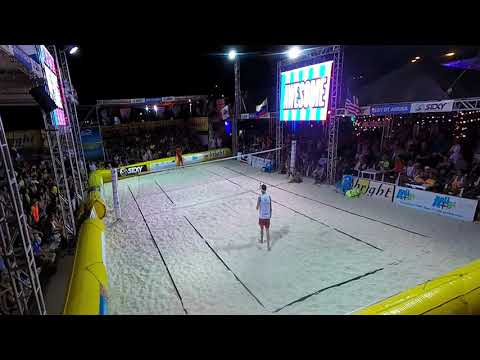 Beach Tennis Internationals Aruba 2015  A.  RAMOS VIERA vs M. GARAVINI