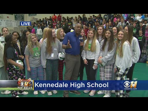 CBS 11 Pep Rally: Kennedale High School Volleyball