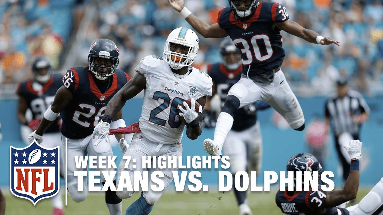 fd364265 Texans vs. Dolphins | Week 7 Highlights | NFL