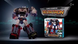 tobot deltatron toy review