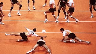 Fantastic Defense | How Do They Do It ? | Volleyball (HD)