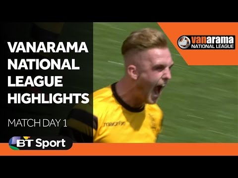 Vanarama National League Highlights Show - Match Day 1