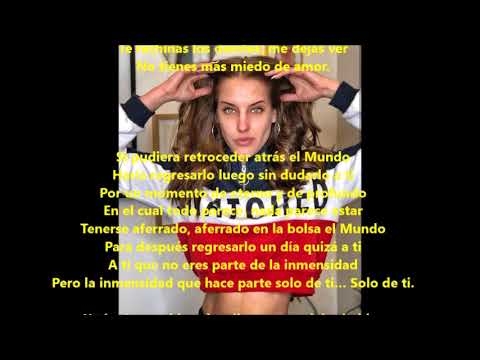 L'immenso (La inmensidad)  Negramaro  Lyrics Español