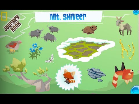 Mt. Shiveer - Animal Jam Journey Book Cheat Guide