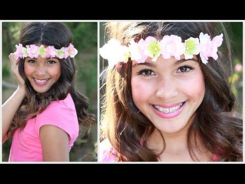 DIY  Flower Headband  0ed15c33a2b