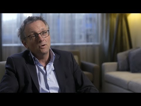Dr Michael Mosley on weight loss and the 5-2 diet