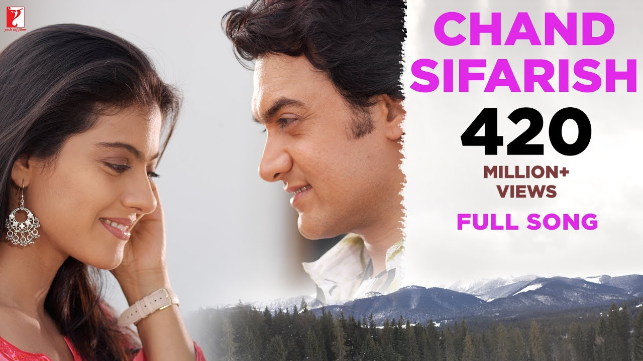 Chand Sifarish Full Song  Fanaa, Aamir Khan, Kajol, Shaan, Kailash Kher, Jatin-lalit, Prasoon Joshi