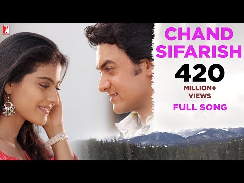 Chand Sifarish  Full Song  Fanaa  Aamir Khan  Kajol  Shaan  Kailash Kher