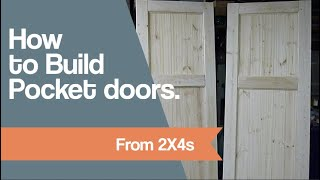 How to Build Pocket doors from 2x4s.