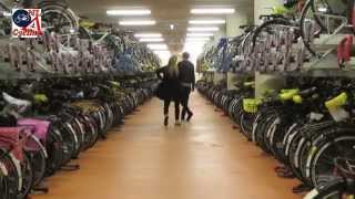 Bicycle Parking Facility at Rotterdam Central Station