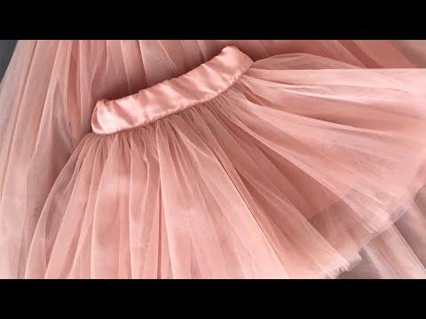 Фатиновая юбка для девушки своими руками