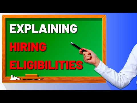 What Are USAJOBS Hiring Eligibilities?