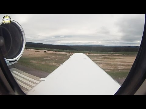 Citation Sovereign Private Jet Smooth Landing in Goose Bay, Canada, by Hahn Air.  [AirClips]