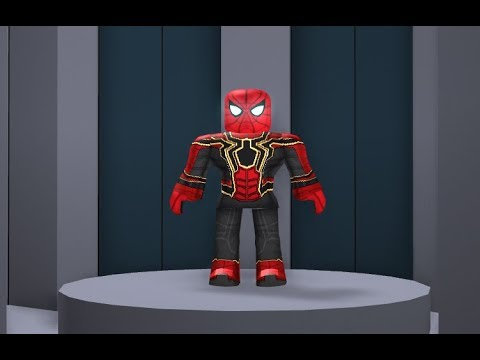 How To Get The Spiderman Head In Roblox Youtube How To Make Infinity War Spiderman In Roblox Youtube