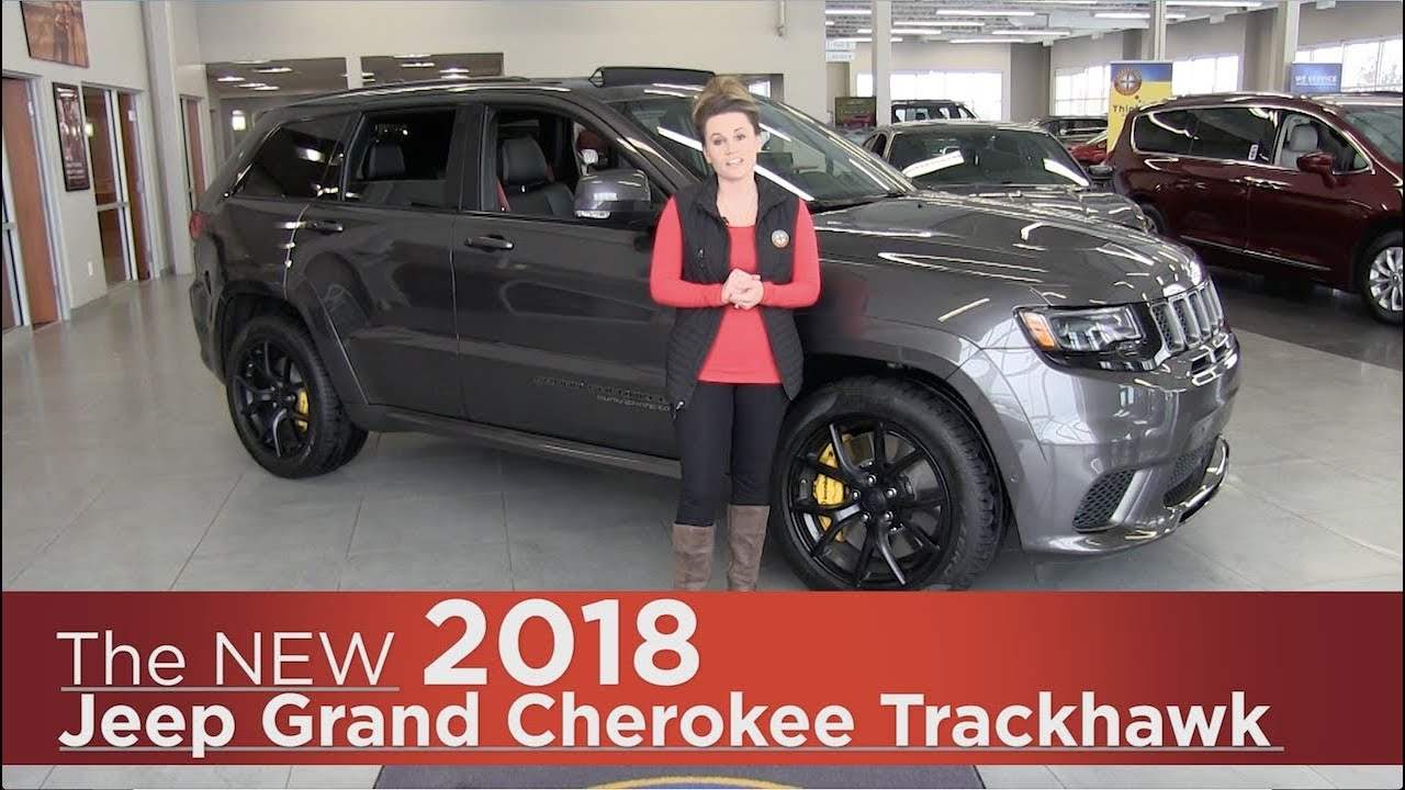 all new 2018 jeep grand cherokee trackhawk elk river. Black Bedroom Furniture Sets. Home Design Ideas