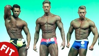 NATIONS BATTLE FOR MUSCLE TITLE